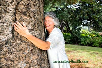Tree Hugging is Green Energy Activity