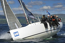 J/97 sailing in Scotland