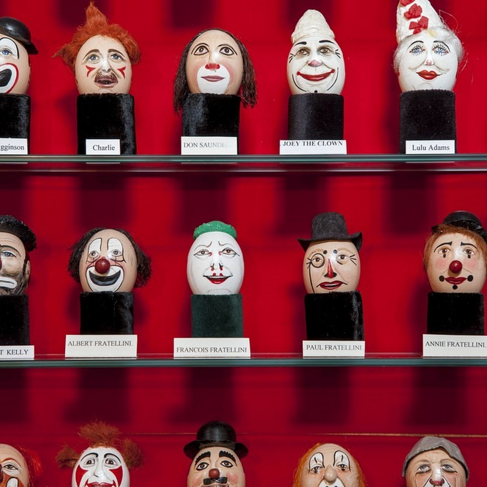 How Clowns Trademark Their Face By Painting On Eggs