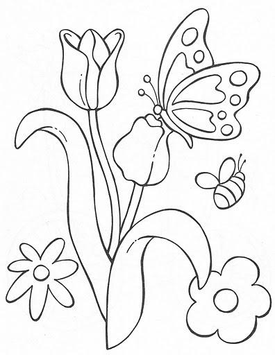 Vitrales De Mariposas Para Colorear