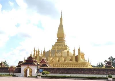 Wat Pha That Luang, Vientiane Laos