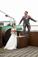 Bruidsreportage (Trouwfotograaf) - Foto van bruidspaar - 149