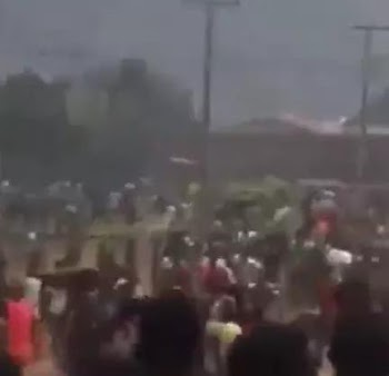 2000 inmates reportedly released as hoodlums stage yet another jailbreak in Edo state (video)