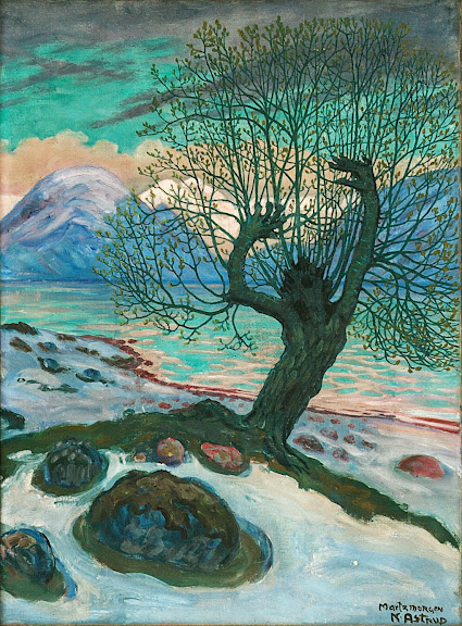 Nikolai Astrup - A Morning in March, ca. 1920