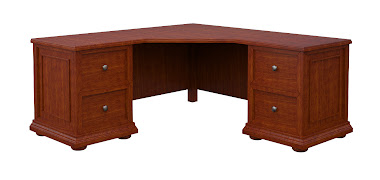 Edinburgh L-Shaped Desk