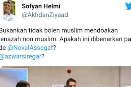 Soal Doakan Mayat Kafir, Klarifikasi Noval Assegaf: Bukan Tentang Jokowi