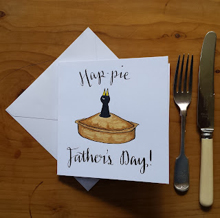 Hap-pie Father's Day :: www.AliceDrawsTheLine.co.uk