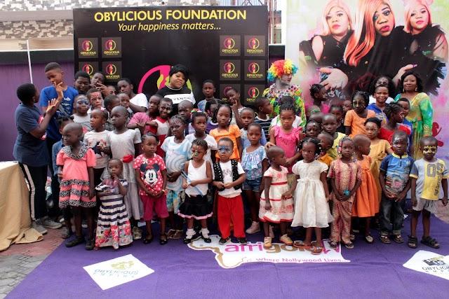 OBYLICIOUS FOUNDATION TO EMPOWER 10,000 CHILDREN, 500 CHILDREN