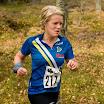 Elin Dahlin leder damklassen efter 6 km