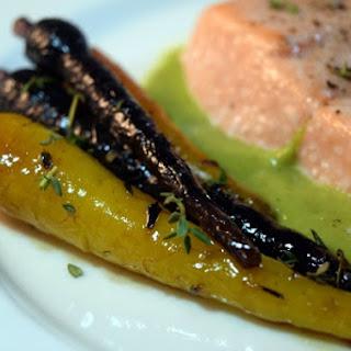 Agave Thyme Glazed Carrots