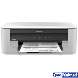 How to reset Epson K201 printer