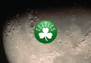 Boston Celtics Logo Wallpapers Moon Radiance background