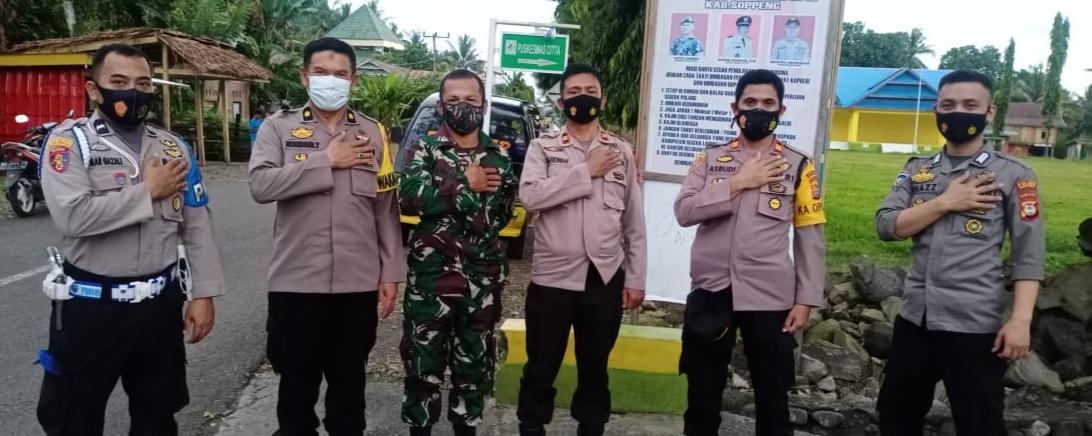 Wakapolres Soppeng Kuker dengan Tripika Kecamatan Citta