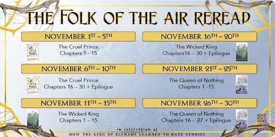 The Folk of the Air readalong schedule