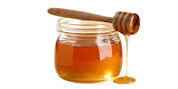 Honing bij zonnebrand