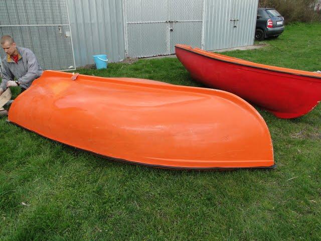 Remont łódek komisji szkoleniowej