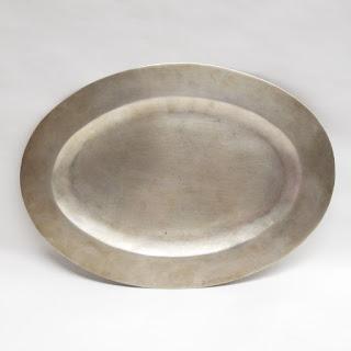 Maciel Sterling Silver Oval Platter