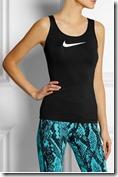 Nike Pro stretch jersey tank