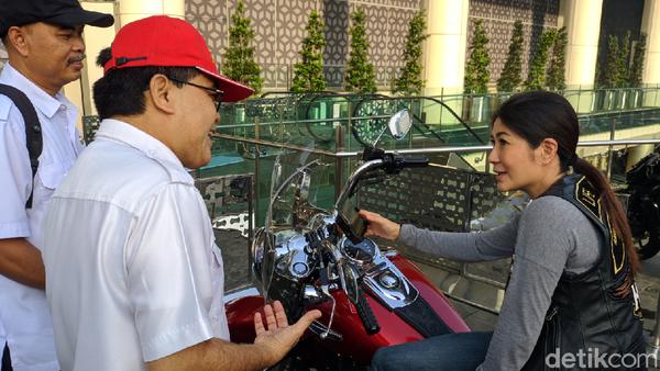 Sentilan 'Aji Mumpung' dari Pemilik Harley Saat Razia Pajak Moge
