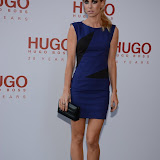 WWW.ENTSIMAGES.COM -   Vanessa Kirby  attending  HUGO: RED NEVER FOLLOWS - private view / party of exhibition to celebrate 20th anniversary of Hugo Boss, featuring the brand's RED NEVER FOLLOWS project which saw it collaborate with 20 'urban creatives' from around the world July 30th 2013                                                     Photo Mobis Photos/OIC 0203 174 1069