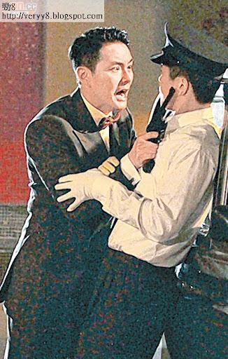 胡杏兒和蕭正楠前晚在大埔拍攝重頭劇《巾幗梟雄之諜血長天》