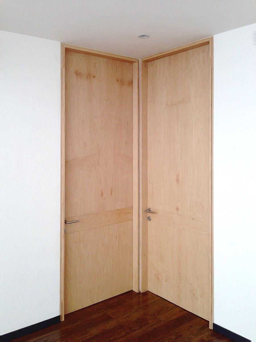 Puertas de madera orbis home for Puertas color madera