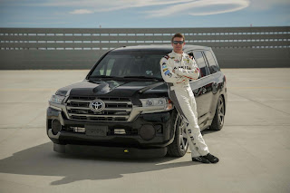 Toyota land speed cruiser fastest suv in the world