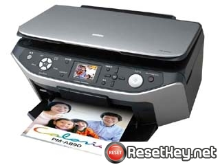 Epson PM-A890 Waste Ink Pads Counter Reset Key