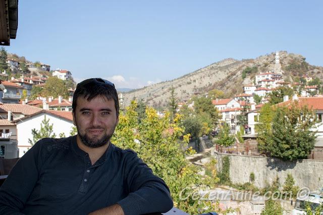 Lalezar restorandan Göynük manzarası, Bolu