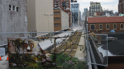 Highline where it ended in 2009