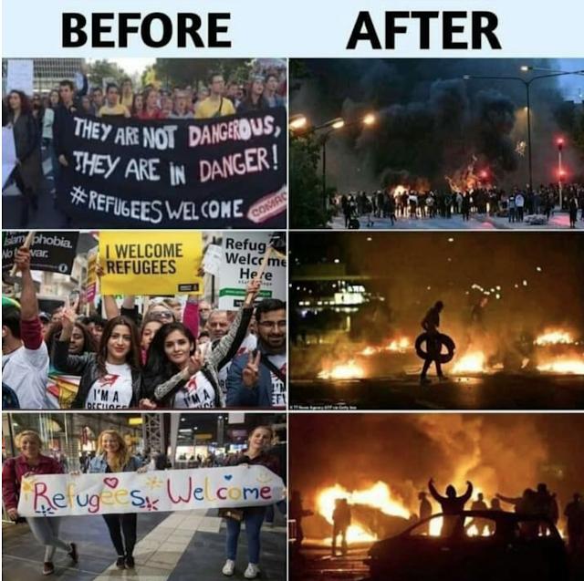 Sweden Burning Shayari