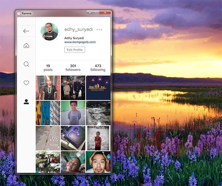 Aplikasi Instagram Untuk Pengguna Desktop