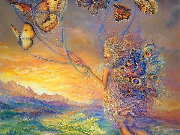 Fairy Flying On Butterflies, Fairies Girls 2