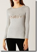 Coast Sparkle Sequin Knit Top