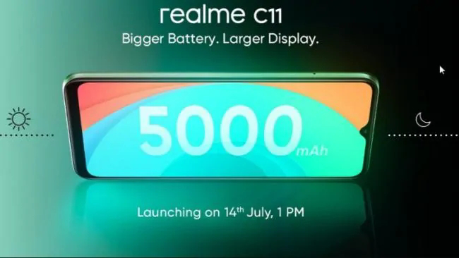 Realme's cheap SmartPhone C11 will be launched in India on July 14,Know Amazing features