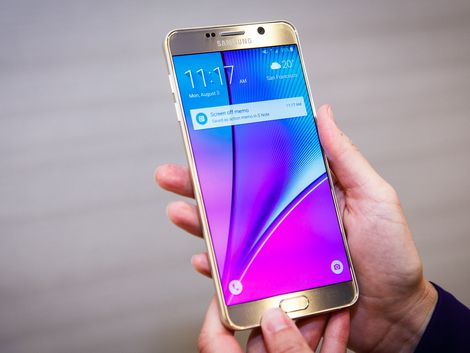 Samsung is updating Galaxy Note 5's with Note 7 Software 1