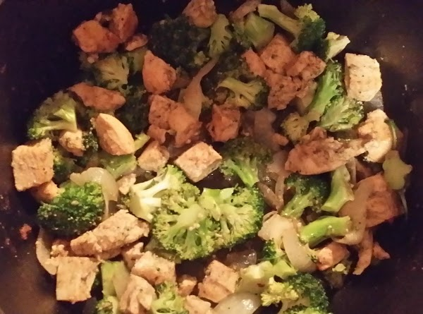 Sauteed Broccoli And Chicken Recipe