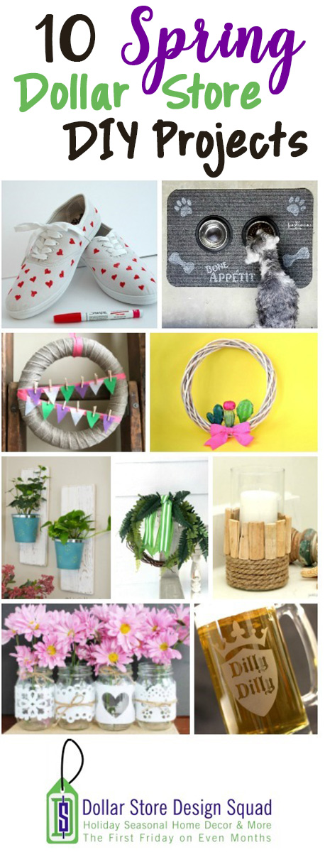10 Spring Dollar Store DIY Projects