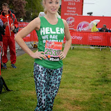 OIC - ENTSIMAGES.COM - Helen George at the Virgin London Marathon 2015 in London 26th April 2015  Photo Mobis Photos/OIC 0203 174 1069