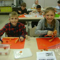 Toveren met groenten: de eetbare racemobiel (5de leerjaar)