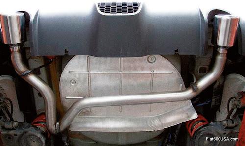 Fiat 500 Abarth Magneti Marelli Bombardone exhaust-us500abarth.com