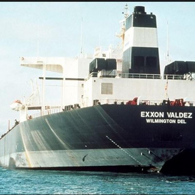 el desastre del petrolero Exxon Valdez y las focas