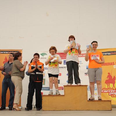 Carrera de La Solana 2011 - Trofeos