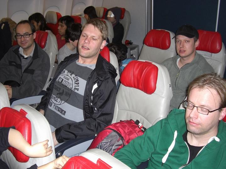 Sleep in the plane