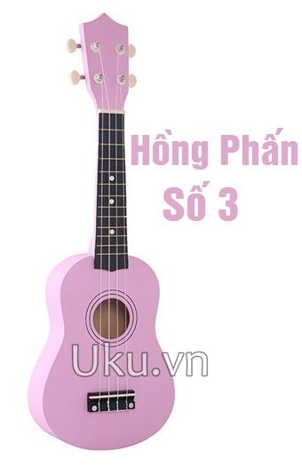 ukulele hồng phấn