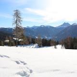 Schneeschuhwanderung und 1. Weißwurstparty auf der Josef's Ruh 25.01.16 - escursione con le ciaspole