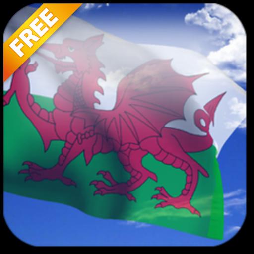 3D Welsh Flag Live Wallpaper (app)