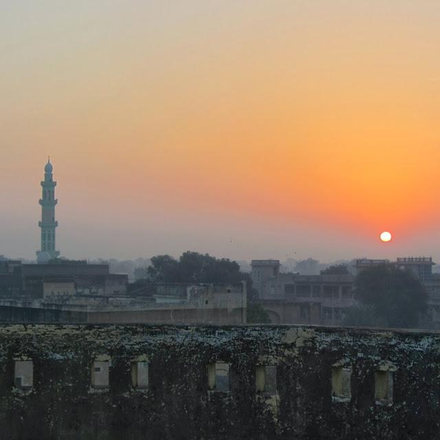Sunset, Mahansar, Shekhawati