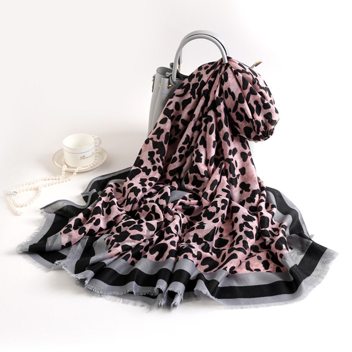 Harga Trend Baju Jumbo Leaf Uk L Purple PriceNia com Source · Fashion Women Leopard Print Scarf Pashmina Striped Border