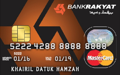 5 Kad Kredit Bank Rakyat Popular 2021